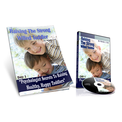 raising the strong will toddler product cover