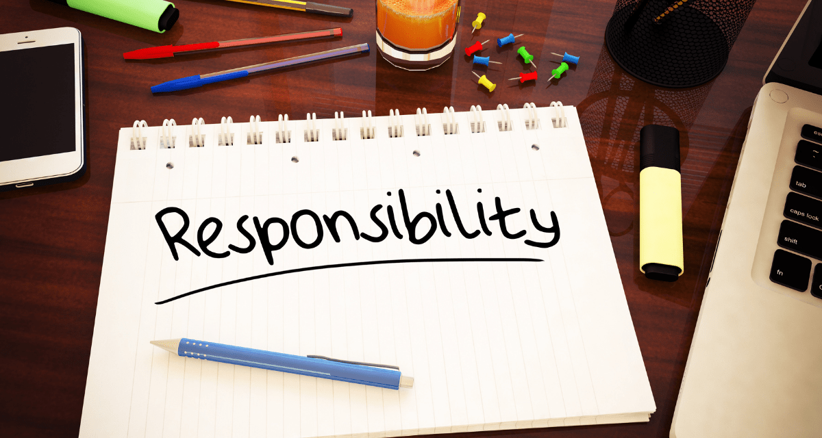 We All Have a Choice:  Complain or Take Responsibility